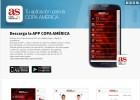 AS lanza una nueva App específica de la Copa América