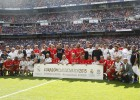 Real Madrid Legends v Liverpool Legends 2015