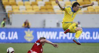 Ucrania cumple y se deshace con facilidad de Luxemburgo