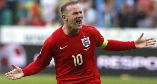 Un gol de Rooney hace justicia y da la victoria a Inglaterra
