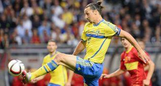 Ibrahimovic le da el triunfo a Suecia ante Montenegro