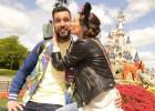 Los futbolistas se divierten en Disneyland París