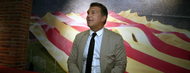 """Laporta: """"No sé nada de Ramos, esto sale porque acaba contrato"""""""