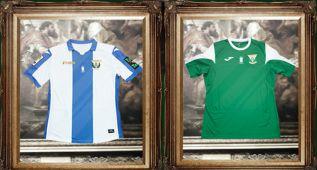 El Leganés vuelve a los años 80 con su nueva equipación