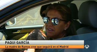 """La madre de Sergio Ramos: """"Quiere seguir en el Madrid"""""""