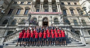 Bilbao luce con orgullo a un filial rojiblanco con 18 vizcaínos