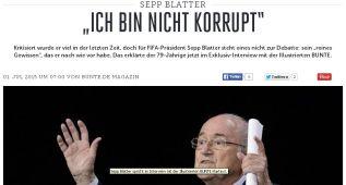 """Blatter: """"Yo no soy un corrupto"""""""