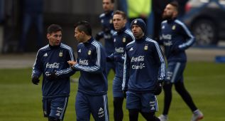Argentina, de camino a la final en Santiago de Chile