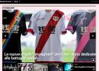 Las camisetas solidarias del Rayo dan la vuelta al mundo