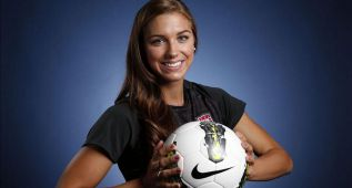 Alex Morgan, el icono del fútbol femenino cumple 26 años