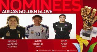 Angerer, Hope Solo y Kaihori, candidatas al Guante de Oro