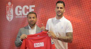 """Edgar asegura que llega al Granada """"con hambre e ilusión"""""""