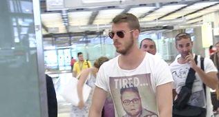 """De Gea, en Madrid: """"Sólo vengo de vacaciones a descansar"""""""