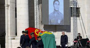 Eusébio ya descansa en el Panteón Nacional luso