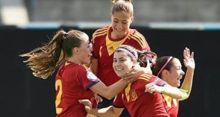 Las chicas Sub-17 apuntan ante Suiza a su tercer título