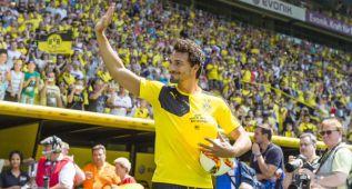El Dortmund se presenta ante más de 40.000 aficionados