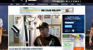 Gargano defenderá los colores del Monterrey mexicano