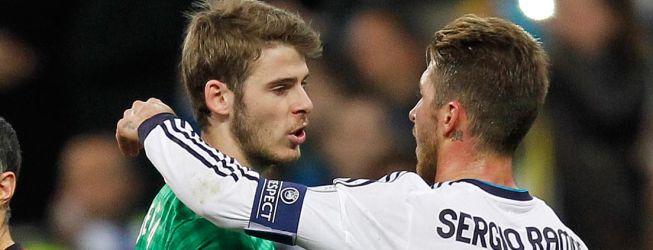 Órdago del Manchester: no hay David de Gea sin Sergio Ramos