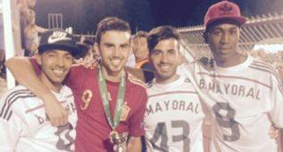 """Borja Mayoral, máximo goleador: """"No podíamos fallar"""""""