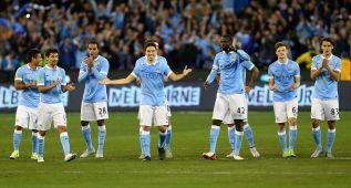 El City gana a la Roma en penaltis con debut de Sterling