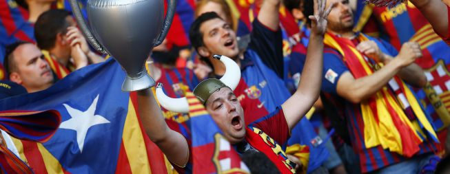 Las 'esteladas' le salen al Barcelona por 30.000 €