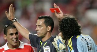 El exárbitro Proença se postula para dirigir la Liga portuguesa