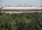 Moscú, escenario del partido inaugural y la final del Mundial