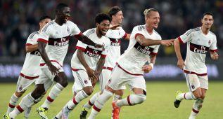 El Milán batió al Inter en China con un golazo de Mexes