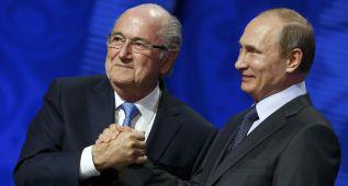 """Blatter: """"FIFA garantiza su total apoyo al Mundial de Rusia"""""""