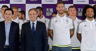 Primer acercamiento entre Sergio Ramos y Florentino