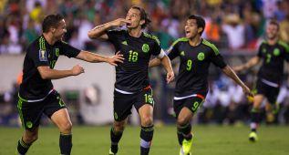 México vence 3-1 a Jamaica y logra la séptima Copa Oro