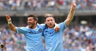 El New York City golea, doblete de Villa y Pirlo debuta