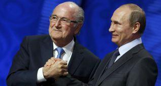 """Putin: """"Blatter merece un Nobel"""""""