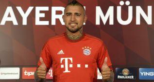 """Vidal, cuatro años con el Bayern: """"Aquí puedo ganar la Champions"""""""