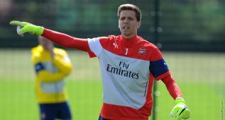 """El Arsenal cede Szczesny al Roma y le desea """"mucha suerte"""""""