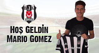 Mario Gómez, cedido al Besiktas por una temporada