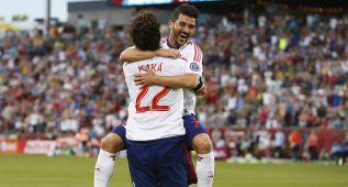 Kaká y Villa, protagonistas de la victoria ante el Tottenham