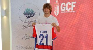 """Krhin: """"Estoy muy feliz de estar en el Granada"""""""