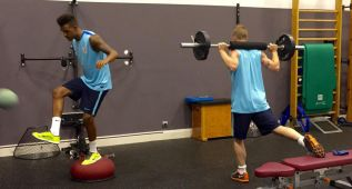 Williams, Muniain y Ramalho trabajan en el día descanso