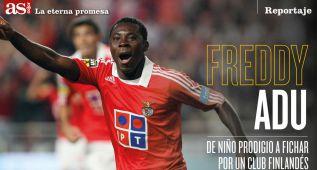 Freddy Adu: de prematuro crack del fútbol a juguete roto