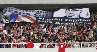 Unos 400 hinchas vieron el entrenamiento del Atlético
