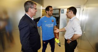 Bravo acaba las vacaciones y vuelve al trabajo con el Barça