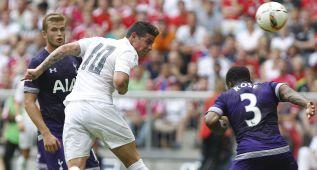 Las imágenes del Real Madrid - Tottenham