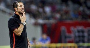 """Simeone: """"Vi bien a Fernando Torres, como a todo el equipo"""""""
