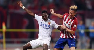"""Exótico debut del chino Xu Xin en el Atleti: """"Tuve nervios"""""""