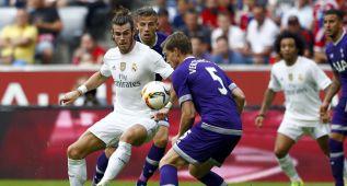 James y Bale guían al Madrid a la final de la Audi Cup