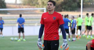 Memo Ochoa se entrenó en Málaga tras sus vacaciones