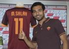 Mohamed Salah y Edin Dzeko, nuevos refuerzos del Roma