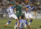 Un doblete de Jorge Molina le otorga al Betis el Colombino