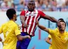 Jackson no pudo marcar en su debut con el Atlético